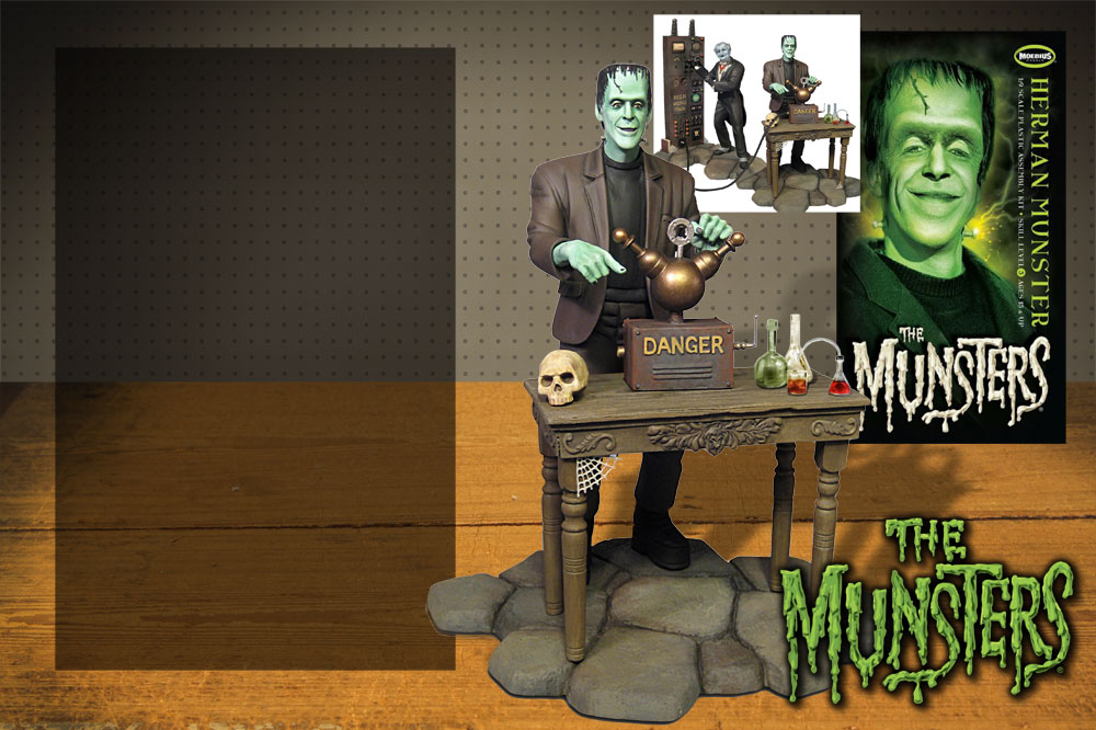 Moebius Models Herman Munster